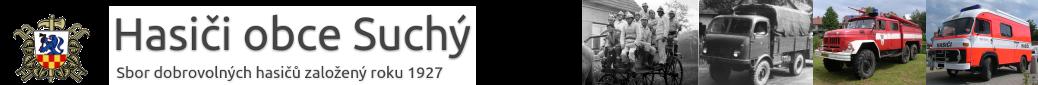 Hasiči obce Suchý